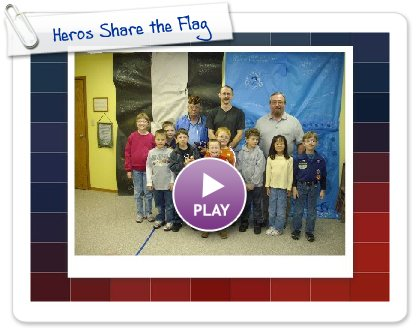 Click to play this Smilebox slideshow: Heros Share the Flag