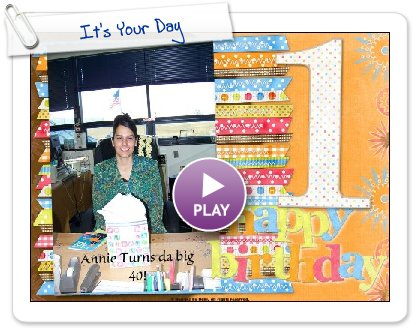 Click to play It's Your Day