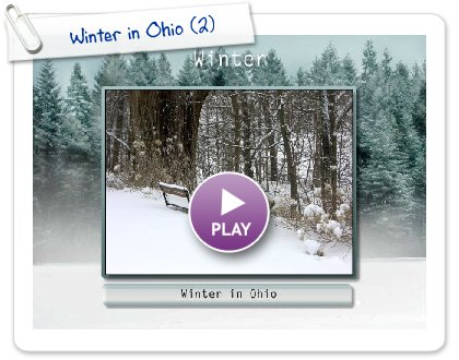 Click to play Winter in Ohio