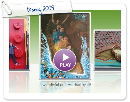 Click to play this Smilebox slideshow: Disney 2009