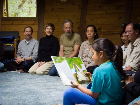 kids being read a story