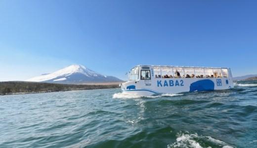 富士山のふもとでスムージーと山中湖にいるKABAを体験してみよう!