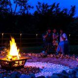 食べ放題・飲み放題!星が降る湖畔のグランピング施設「星が見の杜」