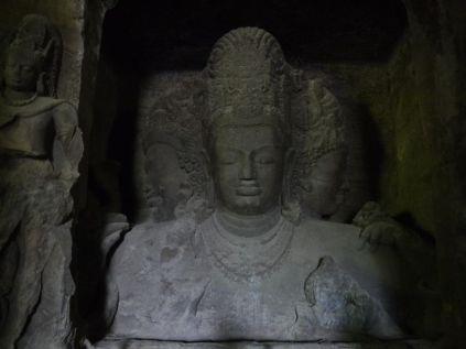 Lord Shiva and his three faces/ Die drei Gesichter der Gottheit Shiva