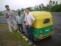 Another rickshaw crew/ Eine andere Rickshacrew