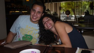 Dawoud from Egypt and Francesca from Italy