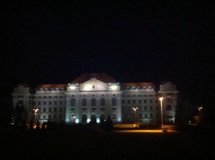 Watch my Beautiful Uni at Night