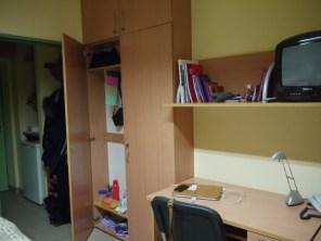 Kossuth Lajos Dormitory Debrecen University Desk Room Dorm