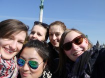 Group Picture at Hero Square