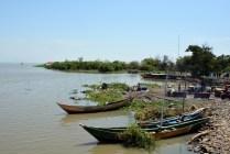 Pretty boats at Lake Victoria