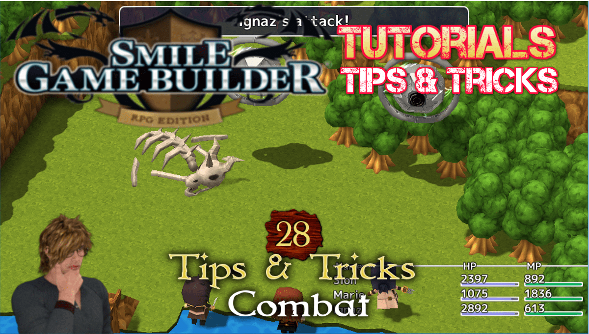 Smile Game Builder Tutorial #28 - Tips & Tricks (Combat)
