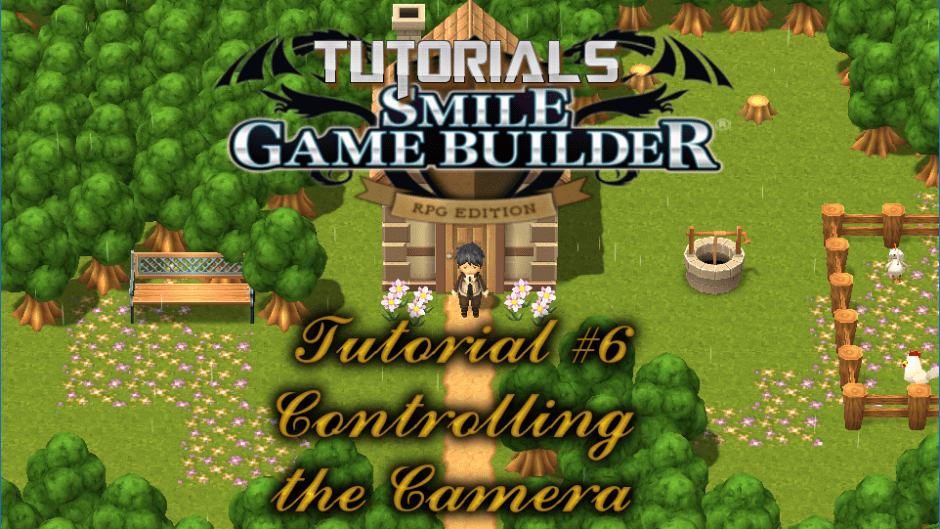 Smile Game Builder Tutorial #6: Controlling the Camera