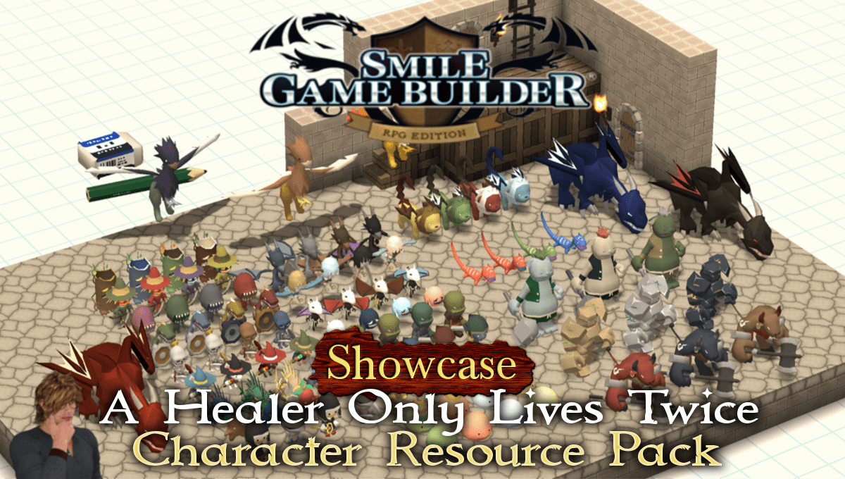 """A Healer Only Lives Twice"" Character Resource Pack - Showcase"
