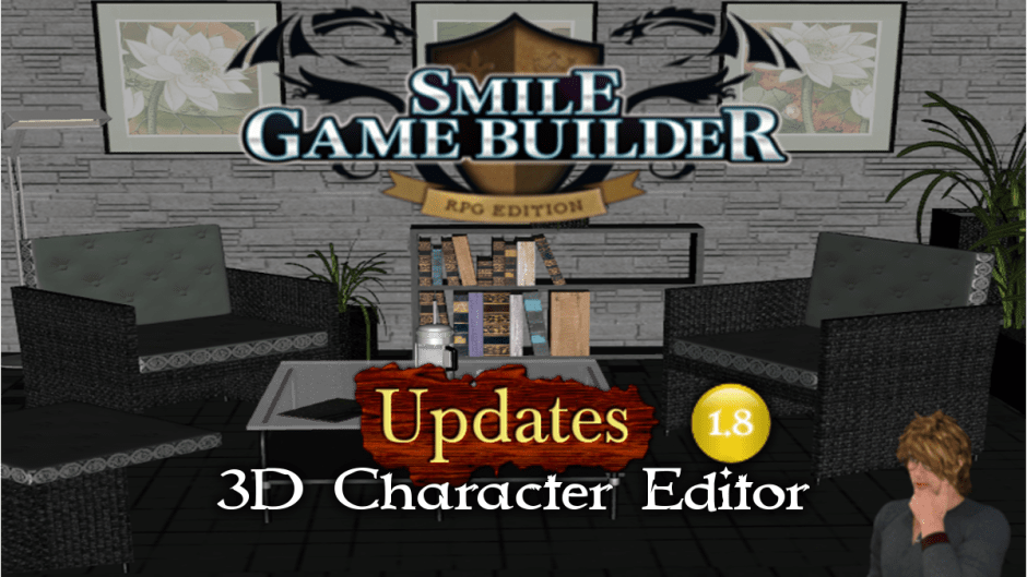 3D Character Editor - Smile Game Builder Update 1.8