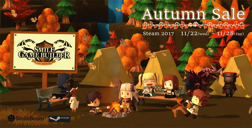 Smile Game Builder Autumn DLC Steam Sale 2017