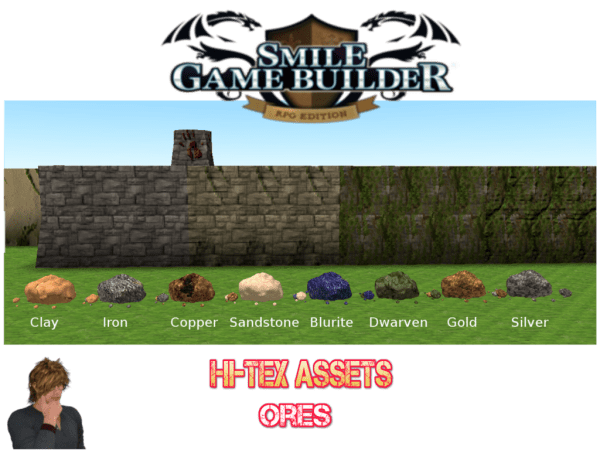 Hi-Tex Pack Showcase - Ores