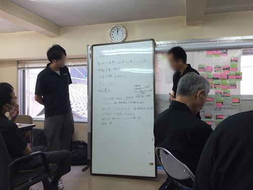 勝井鋼業 3S 会議