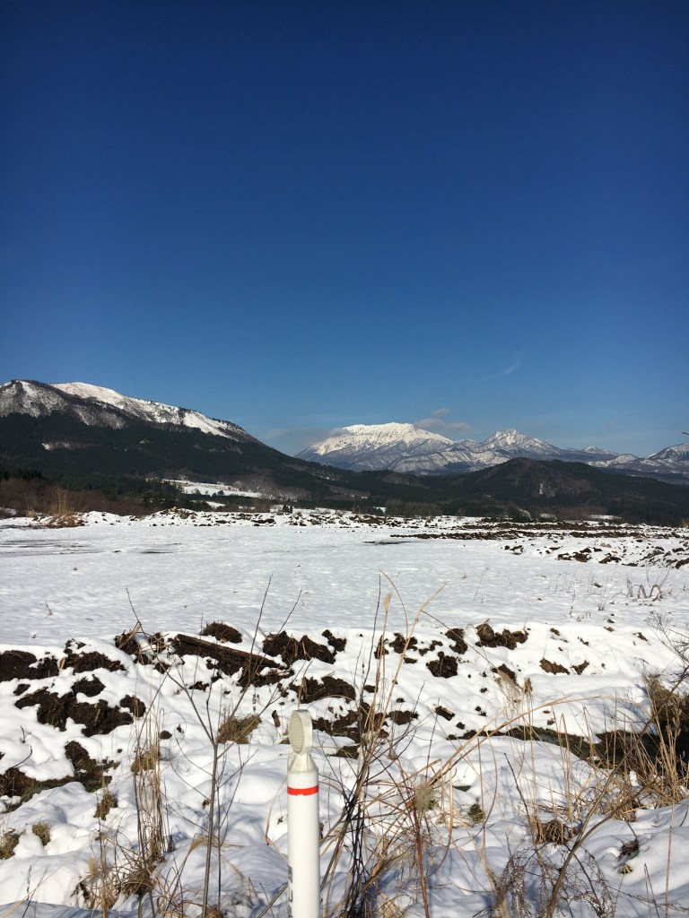 蒜山・大山で雪遊び