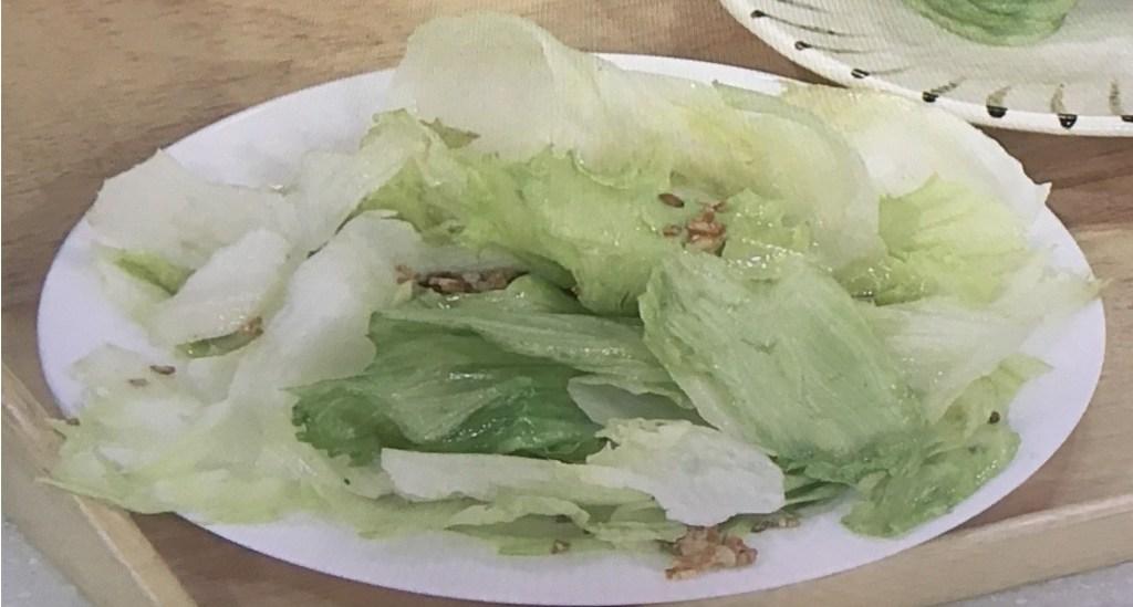 レタス炒め レシピ あさイチ