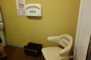 スオーナダフェリー 授乳室の設備2