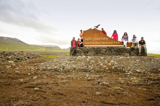 Entrance to the Snæfellsjökull National Park