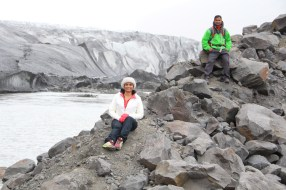 Glacier in the Skaftafell National Park
