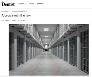 The dentist prison article
