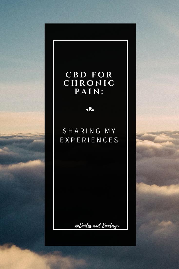 CBD for chronic pain relief