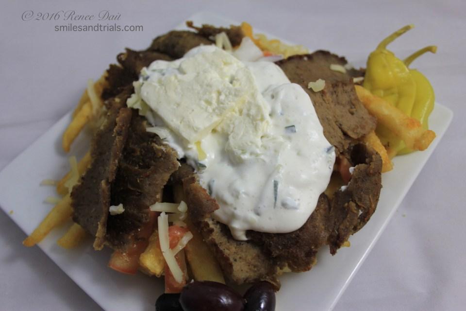 5449 fat zeus loaded greek fries