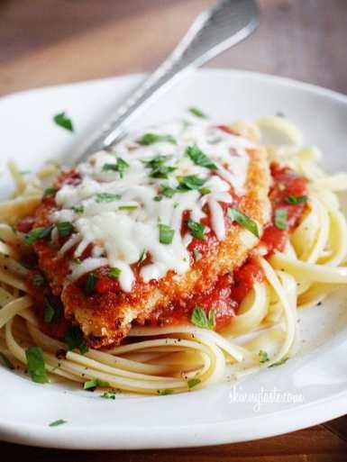 skinny-chicken-parmigiana