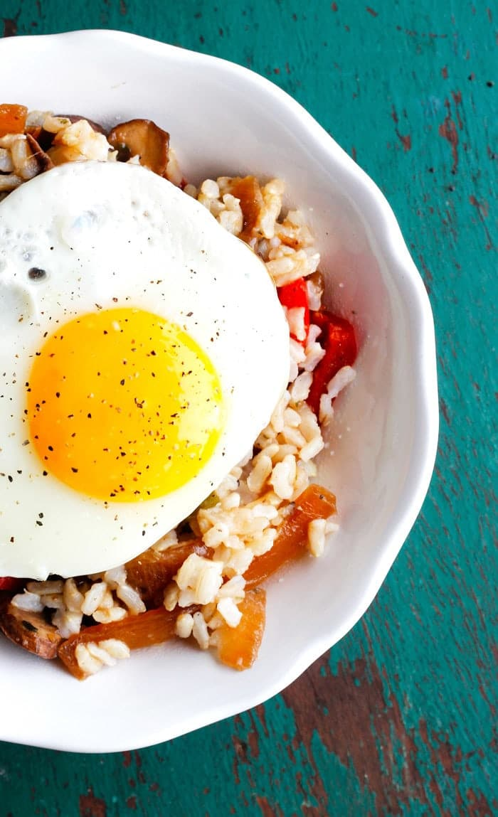 Make-Ahead Brown Rice Breakfast Bowls