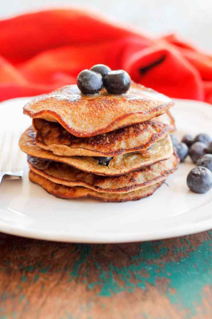 Grain-Free Blueberry Panackes