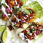 Chorizo and Potato Taco Lettuce Wraps