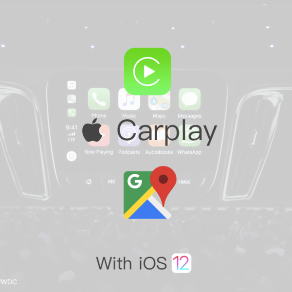 carplay ios12 google maps