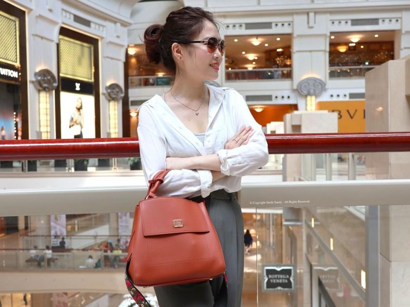 Pixy-波希米亞刺繡寬背帶手提包