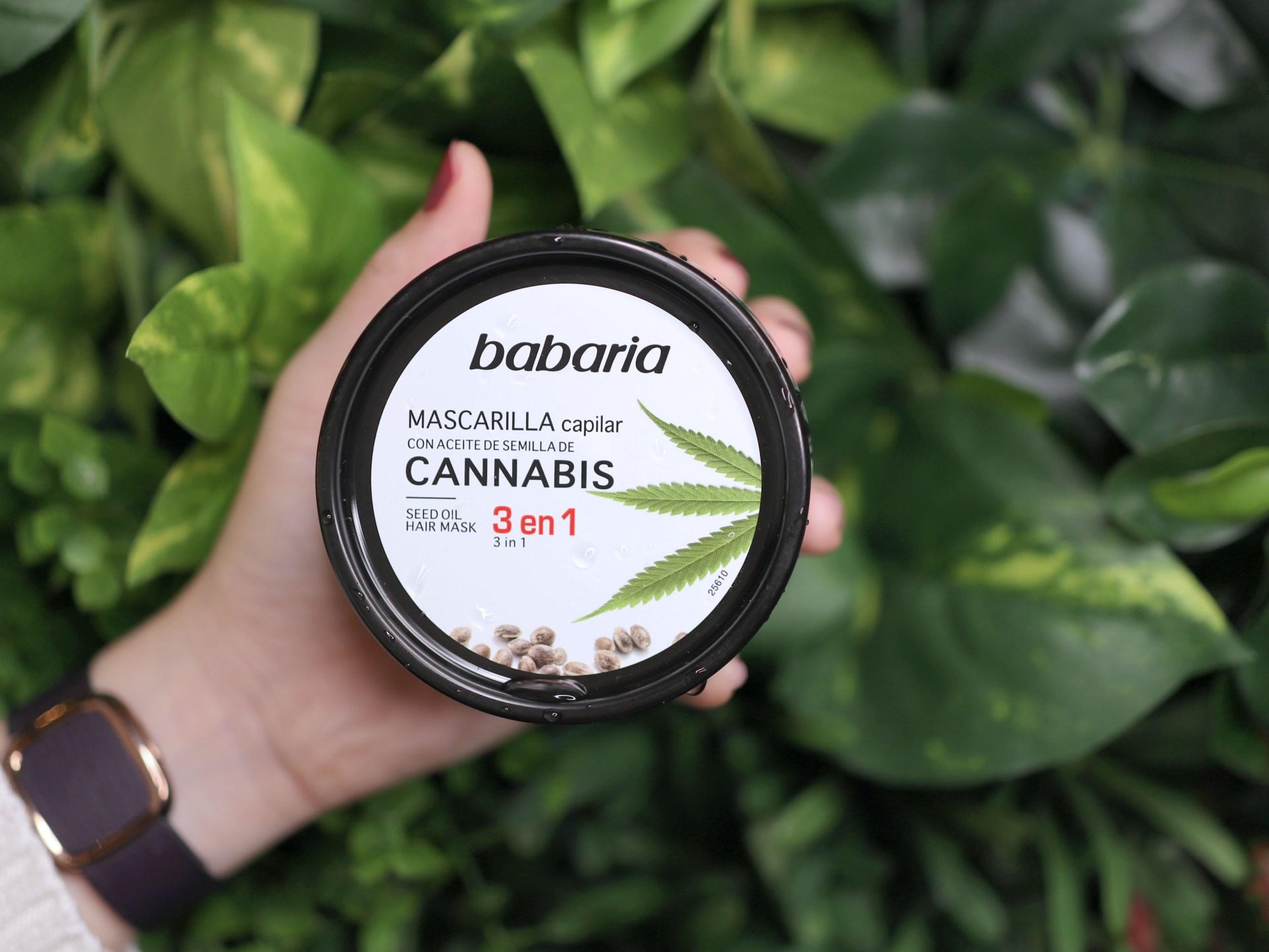 天然草本髮品西班牙babaria大麻籽油修護系列7