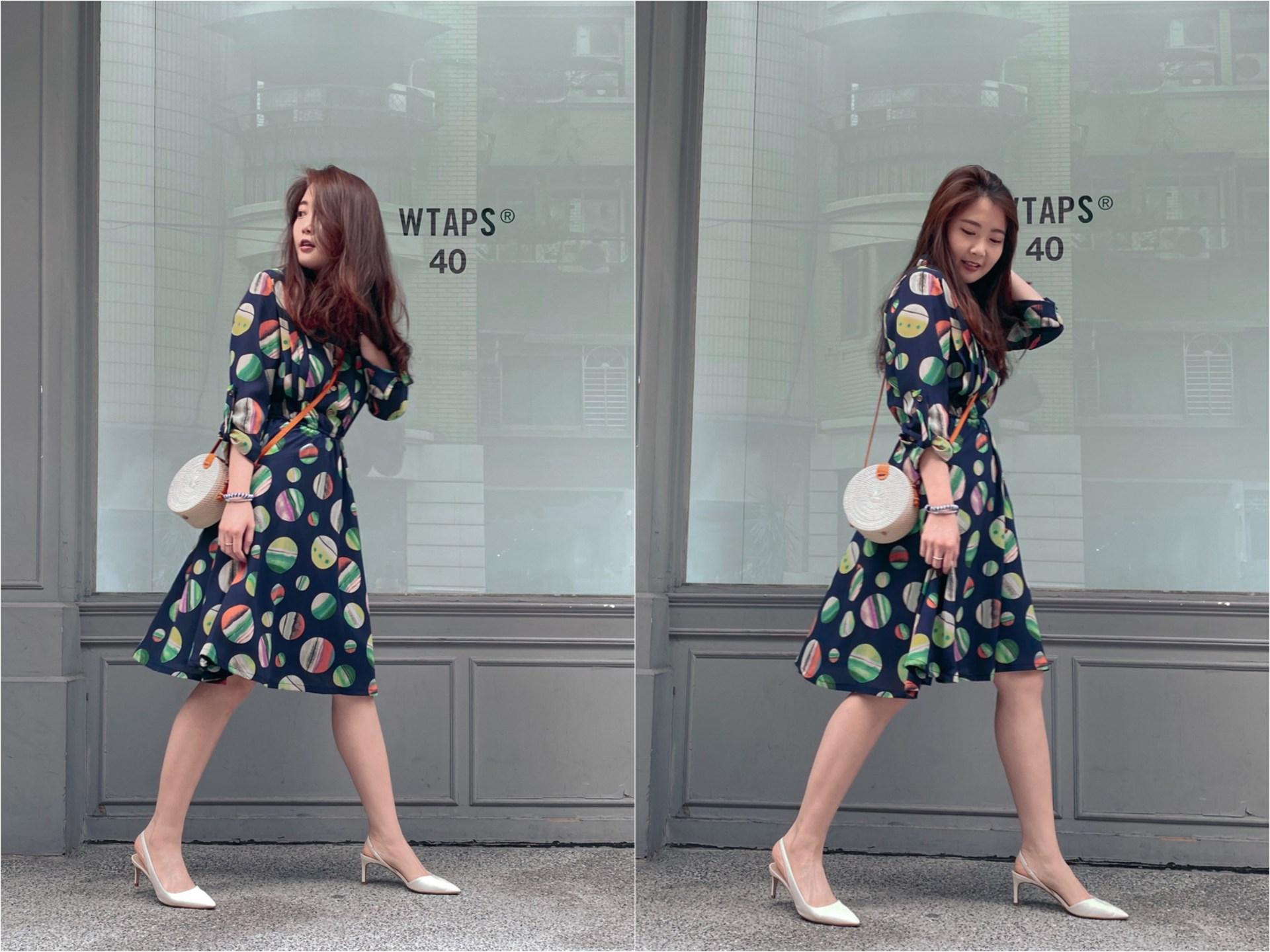 女裝推薦 Georgia Tsao 洋裝穿搭-7