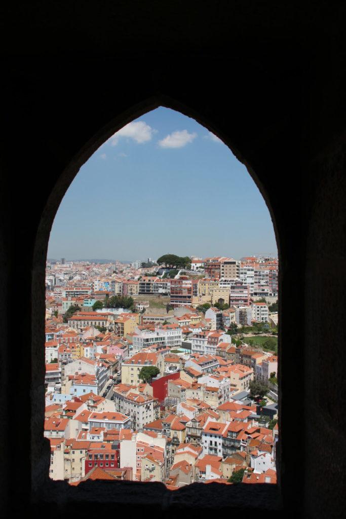 Ausblick Castelo de São Jorge Lissabon