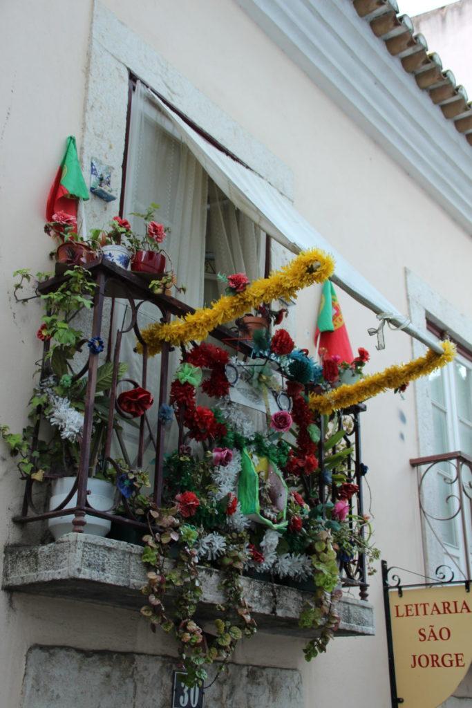 Balkon in Lissabon Alfama 3.05.2019