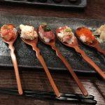 フォトジェニックなスプーン寿司「創蔵」