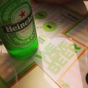 we love beer heineken