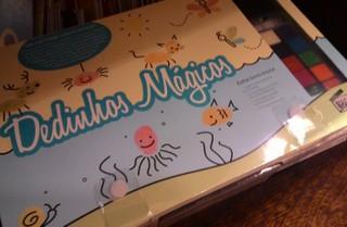 Livro Dedinhos Mágicos