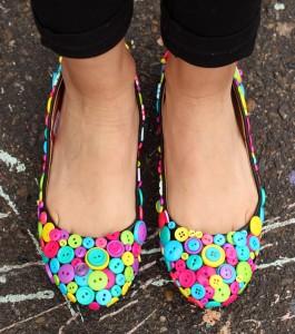 button shoe