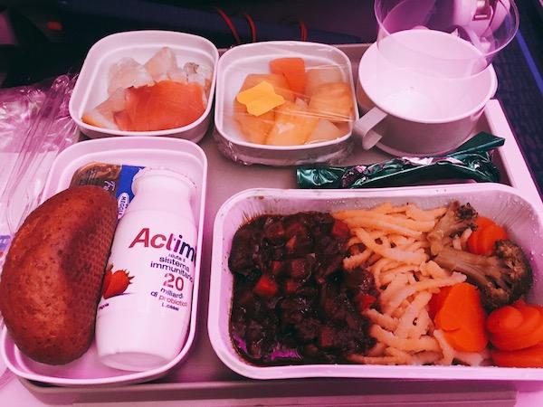 AIR CHINA機内食