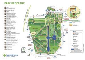 ソー公園 花見地図
