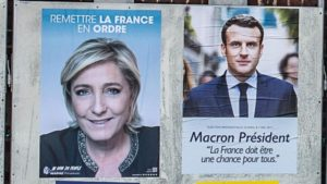 フランス大統領選挙 2017 ルペン対マクロン