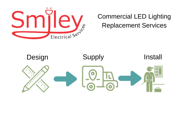 Electrician Northampton Commercial LED Replacement Lighting