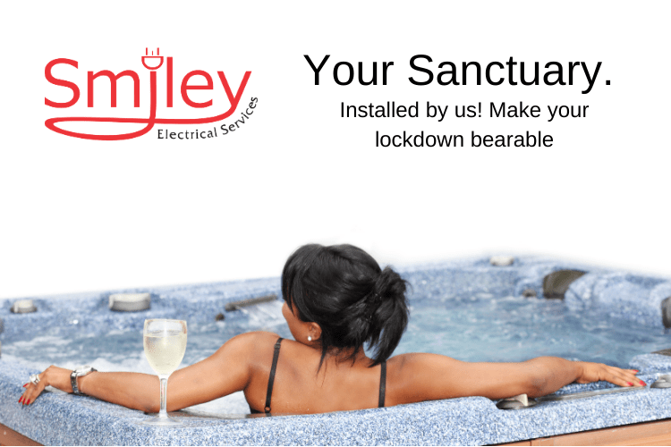 Hot-Tub Electrical Installation Smiley electrical Services Northampton