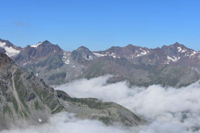 Mountain panorama photo captured in Öztal Austria with a Nikon D3400. Unedited.