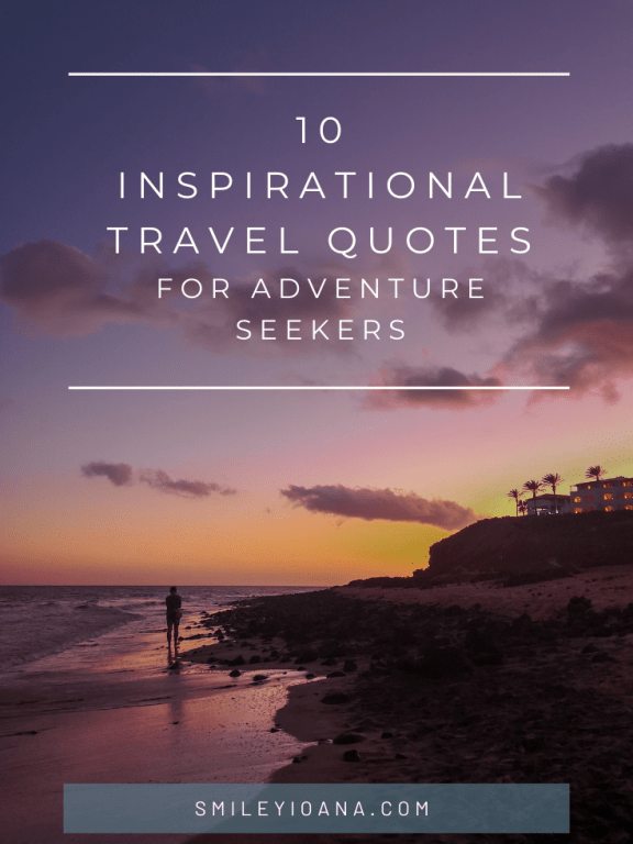 10 Inspirational Travel Quotes for adventure seekers